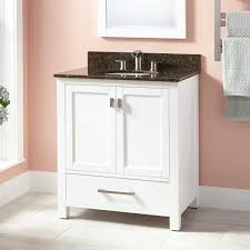 30 modero vanity for undermount sink white