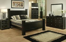 Queen Bedroom Sets Gloosy Black Hard Wood Full X Long Bed Frame