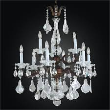 9 light chandelier metal and crystal chandelier english manor 546a by glow lighting