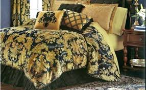 black and gold comforter black d comforter set new classic royal luxurious king cream and black black and gold comforter