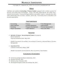 resume coursework