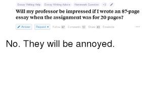 Essay On Advice Essay Writing Help Essay Writing Advice Homework Question 3