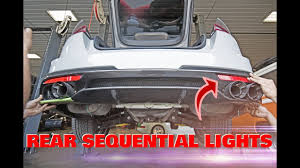 Kia Stinger Sequential Lights Kia Stinger Rear Sequential Lights Diffuser Exchange