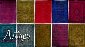 Green Overdyed Rugs - Area Rugs in Many Styles