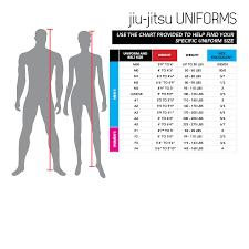 Century Martial Arts Uniform Size Chart 37 Perspicuous Brazilian Clothing Size Conversion Chart
