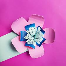 Easy Paper Flower Paper Flower Bookmarks An Easy Paper Craft For Beginners