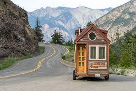where to park tiny house. Tiny House Driving Through British Columbia - 0002 Where To Park