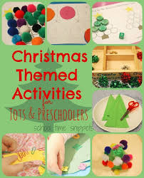 3 year old. Toddler Christmas Themed Learning Activities for 2 \u0026 Year Olds | School Time Snippets