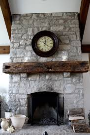 exellent wood barn beam mantel i want this mantel on my back porch reclaimed wood mantelrustic mantelstone intended rustic stone fireplace with mantel a