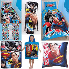 Batman Vs Superman Bedroom Accessories   Choose One Or More   Boys Kids  Clash