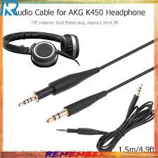 Giá bán Dây cáp âm thanh chuyển đổi đầu cắm 2.5mm ra đầu cắm 3.5mm dài 1.5m  cho tai nghe AKG K450/Q460/K480/K451