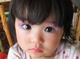 baby spice makeup. baby rheina with make up (after) (♥ spice (^_^) makeup