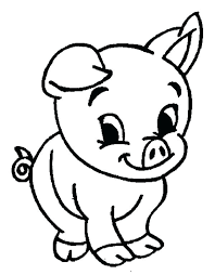Printable Pig Coloring Pages At Getdrawingscom Free For Personal