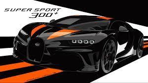 2020 bugatti chiron sport noir: 2020 Bugatti Chiron Super Sport 300 Top Speed