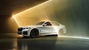 2020 BMW 745e M Sport 4K Wallpaper