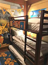 the wizard room at legoland castle hotel carlsbad