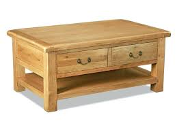 wood coffee table with drawers oak coffee table reclaimed wood coffee table drawers