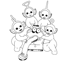 Small Picture Free Printable Teletubbies Coloring Pages For Kids http