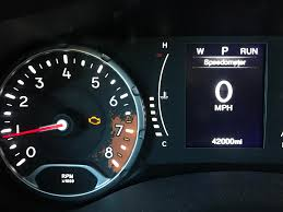 2016 Jeep Renegade Reset Oil Light First Service Engine Light At 42000 Miles 1year And 2months