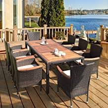 9 Piece Outdoor Dining Sets - Amazon.com