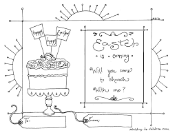 Children S Church Easter Coloring Pages Printable Coloring Page