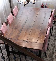 81 best farm table images on extendable dining table plans
