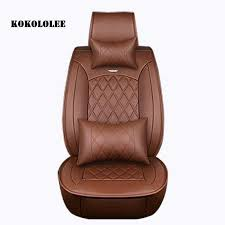special pu leather car seat covers for dacia all models sandero duster logan pink auto accessories car styling car seat slipcover car seat toys from out2244