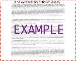 jane eyre literary criticism essay essay help jane eyre literary criticism essay women literary analysis jane eyre by charlotte bronte