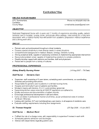 Nursing Student Resume Cover Letter Examples Nursing Student Sample Resume Practical Nurse Canada Cover Letter 96
