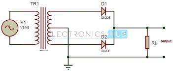 circuit diagram rectifier wiring diagrams best full wave rectifier theory circuit working and ripple factor circuit diagram diode bridge rectifier