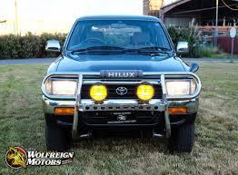 JDM 1992 Toyota Hilux Surf SSR 4WD 2L-TE Turbo Diesel 5-Speed Manual ...