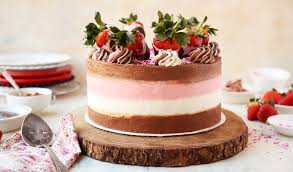 Chocolate Dipped Strawberry Neapolitan Cake The Candid Appetite