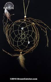 Dream CatchersCom Stunning Natural Vine Dreamcatcher With Quartz Stones 32 Inch