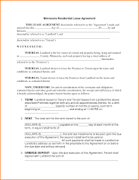 Rental Lease Agreements Editable Rental Agreement Letter Samples Vesnak 10
