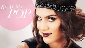 great gatsby inspired 1920s flapper makeup full look