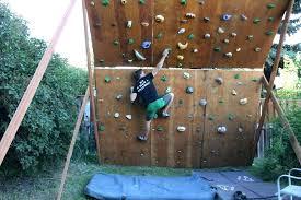kids outdoor climbing wall how to build an outdoor climbing wall outdoor designs workout backyard climbing