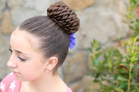 rope twisted pinwheel bun prom hairstyles