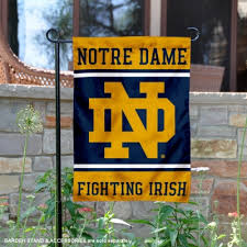 notre dame garden flag and yard flags