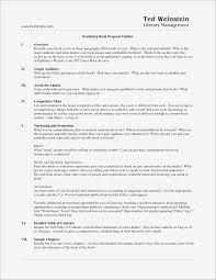 Book Proposal Sample Samples Business Document