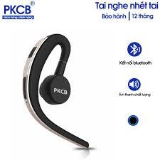 Tai nghe Bluetooth nhét tai cao cấp không dây cho iPhone Samsung PKCB133  kèm mic nghe gọi