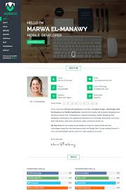 15 Best Html Resume Templates For Awesome Personal Sites Example M
