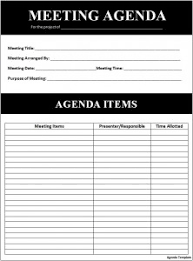 agenda template for word 6 agenda templates word excel pdf templates