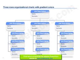 Organizational Chart With Description Organizational Charts In Editable Powerpoint