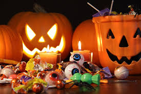 Image result for Photos of pumpkins and Halloween candy