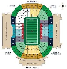 2 Notre Dame Vs Ball State Football Tickets Lower Level