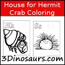 Small Picture 3 Dinosaurs House for Hermit Crab Pack
