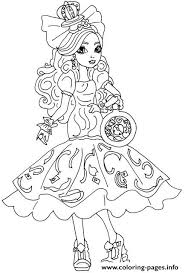 Small Picture Apple White Way Too Wonderland Ever After High Coloring Pages