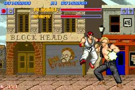 street fighter defining the fighting game genre