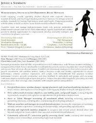 Visual Merchandising Resume Examples Best of Fashion Merchandising Resume Examples Cvfreepro