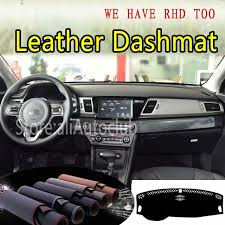 for kia niro 2016 2017 2018 2019 leather dashmat dashboard cover dash carpet custom car styling